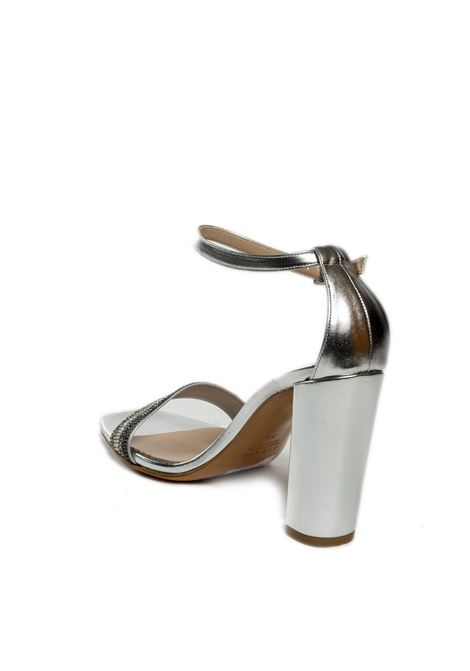 Sandalo strass argento ALBANO | Sandali | 4153MET-ARGENTO