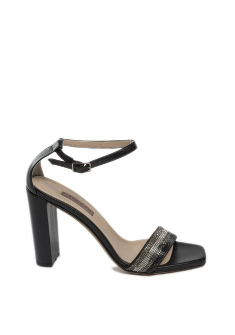 Sandalo strass nero ALBANO | Sandali | 4153SOFT-NERO