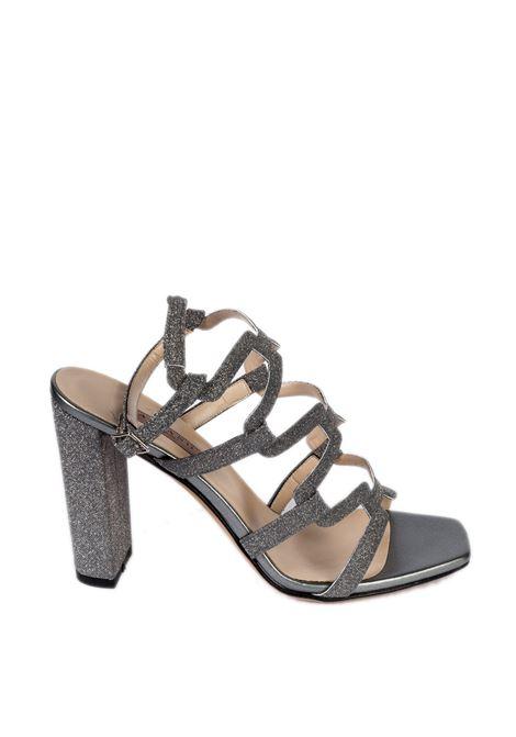 Sandalo geometric nero ALBANO | Sandali | 4223MESH-NERO