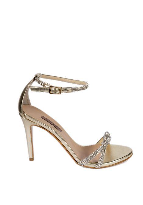 Sandalo strass t90 platino ALBANO | Sandali | 8069MET-PLATINO