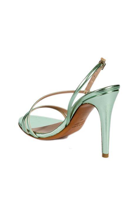 Sandalo metal verde ALBANO | Sandali | 8075MET-ACQUAMARINA