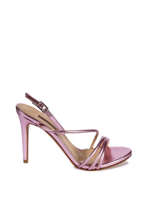 Sandalo metal rosa ALBANO | Sandali | 8075MET-ROSA