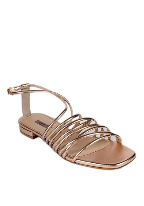 Sandalo flat fasce rame ALBANO | Sandali flats | 8100MET-RAME