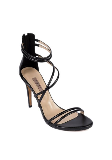 Sandalo zip nero ALBANO | Sandali | 8106SOFT-NERO