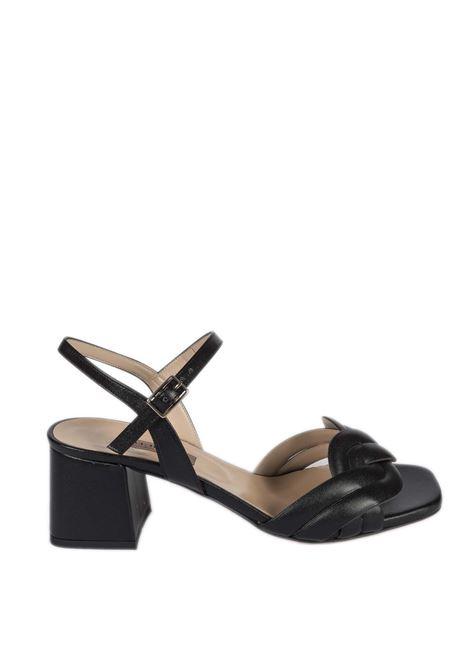 Sandalo treccia nero ALBANO | Sandali | 8109SOFT-NERO
