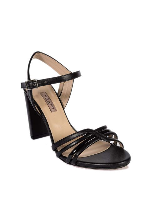 Sandalo dégradé nero ALBANO | Sandali | 8110DEGRADE-NERO