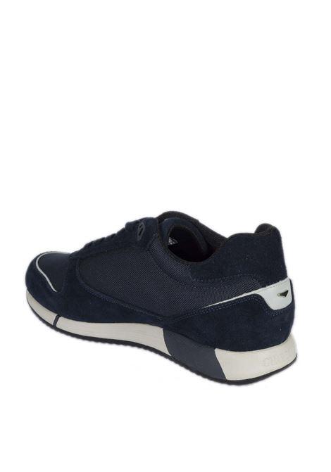 Sneaker suede blu ALBERTO GUARDIANI | Sneakers | 3509SUEDE-BLU