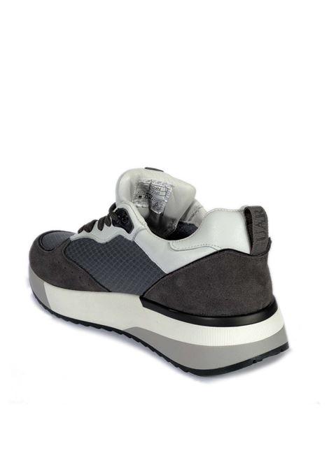 Sneaker mesh grigio ALBERTO GUARDIANI | Sneakers | 7100SUEDE-LEAD