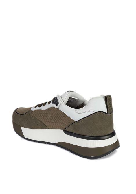 Sneaker mesh cuoio ALBERTO GUARDIANI | Sneakers | 7102SUEDE-MUD