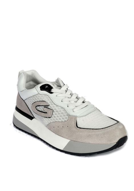 Sneaker suede bianco ALBERTO GUARDIANI | Sneakers | 7104SUEDE-WHITE