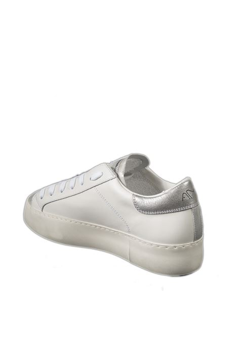 Sneaker bianco/argento AMA BRAND DELUXE | Sneakers | 1755PELLE-BIANCO/ARGENTO