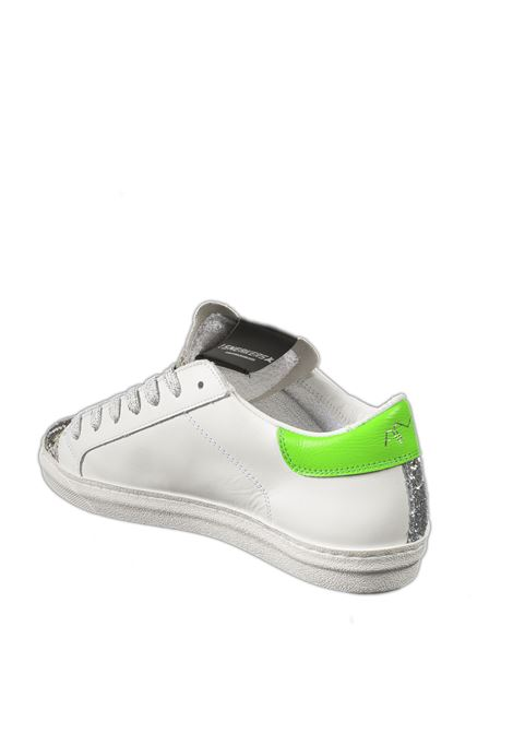 Sneaker glitter verde AMA BRAND DELUXE | Sneakers | 1769PELLE/GLT-PIT VERDE