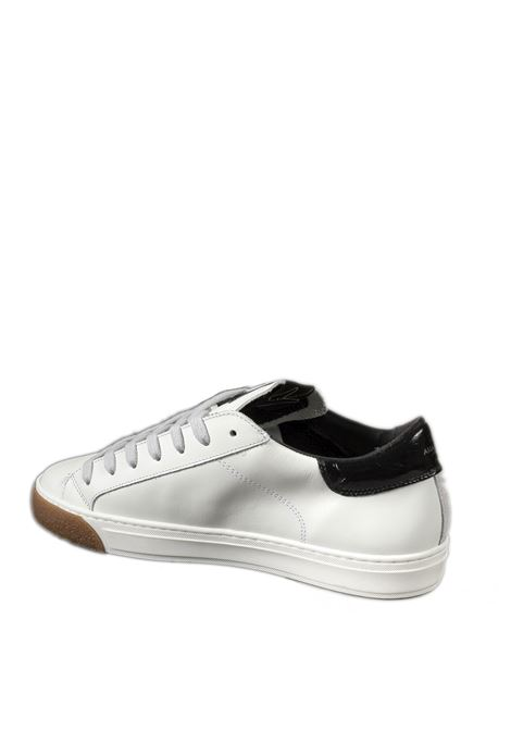 Sneaker vernice bianco/nero AMA BRAND DELUXE | Sneakers | 1783PELLE/VERN-BIA/NERO