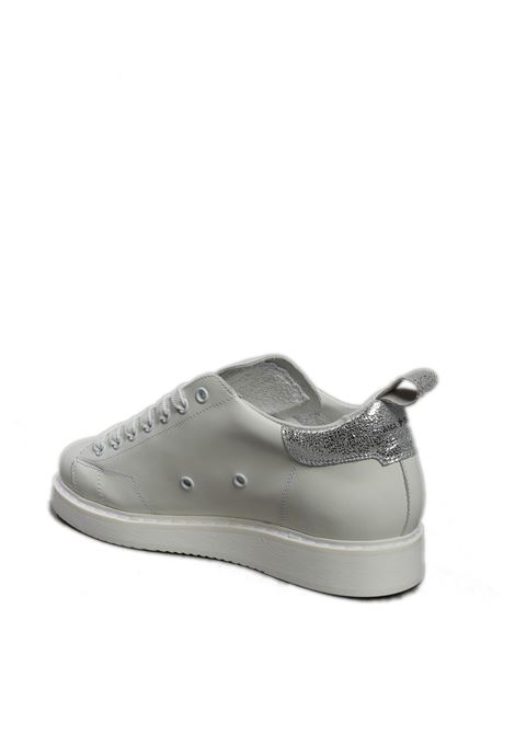 Sneaker bianco/argento AMA BRAND DELUXE | Sneakers | 1810APELLE-BIANCO/ARGENTO