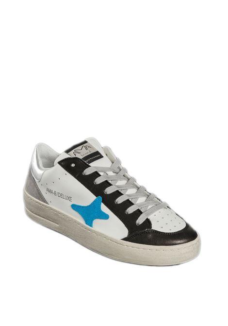Sneaker bianco/blu AMA BRAND DELUXE | Sneakers | 1836PELLE/CAM-BIA/BLU