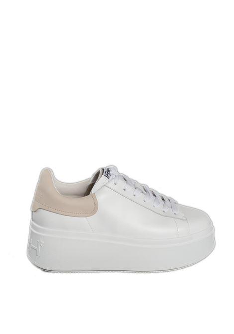 Sneaker moby bianco/rosa ASH | Sneakers | MOBY03NAPPA/CALF-WHITE/PINKSALT