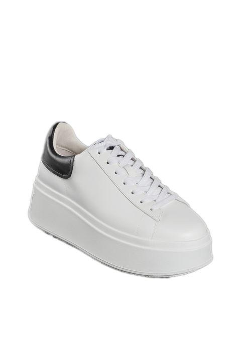 Sneaker moby bianco/nero ASH | Sneakers | MOBY06NAPPA/CALF-WHITE/BLACK