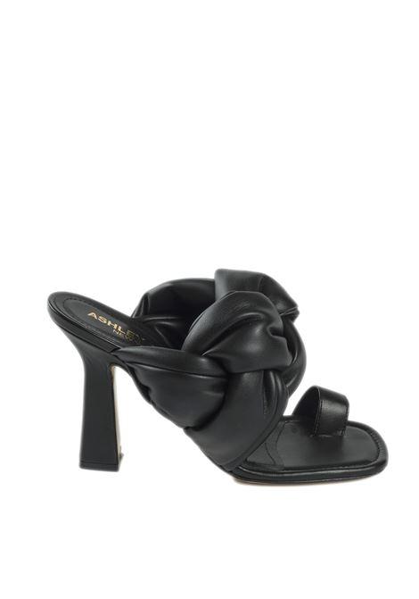 Sandalo lorna nero ASHLEY COLE | Sandali | LORNAZEUS-NERO