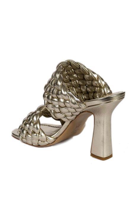 Sandalo rebecca platino ASHLEY COLE | Sandali | REBECCALAM-PLATINO
