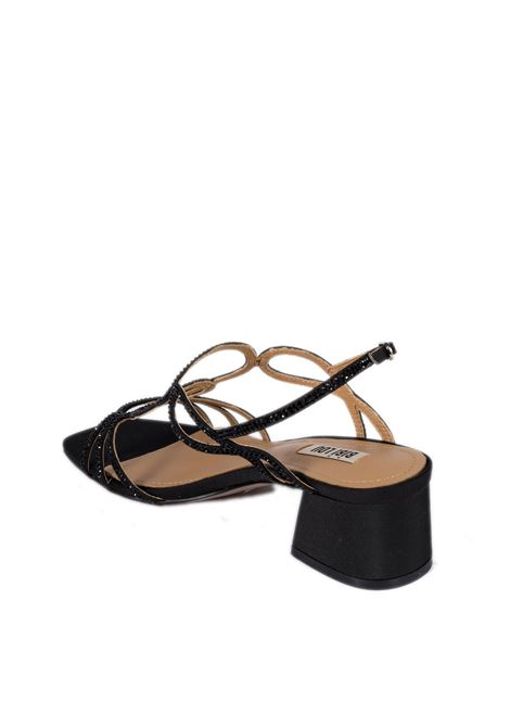 Sandalo raso t40 nero BIBI LOU | Sandali | 585PELLE-NEGRO
