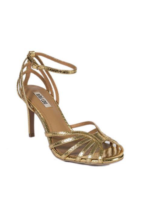 Sandalo fasce t80 oro BIBI LOU | Sandali | 782LAMINATO-ORO