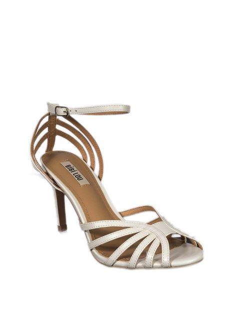 Sandalo fasce t80 bianco BIBI LOU | Sandali | 782PELLE-BLANCO