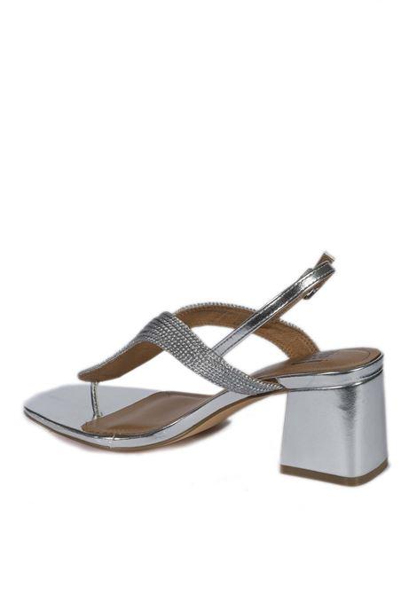 Sandalo rafia argento BIBI LOU | Sandali | 843LAM-PLATA