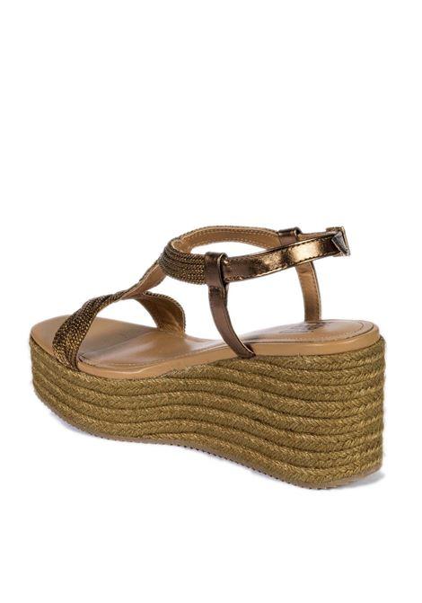 Sandalo zeppa cuoio BIBI LOU | Sandali | 845PELLE-CUERO
