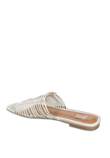 Sandalo flat pelle bianco BIBI LOU | Sandali flats | 849PELLE-BLANCO