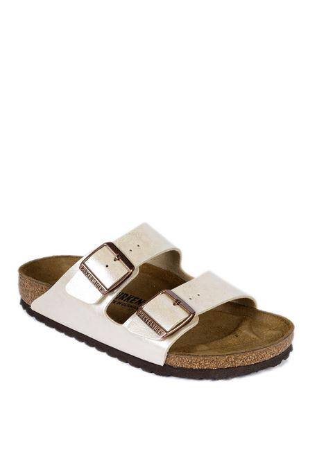 Sandalo Arizona perla/bianco BIRKENSTOCK | Sandali flats | ARIZONA D1009921-PEARL/WHITE