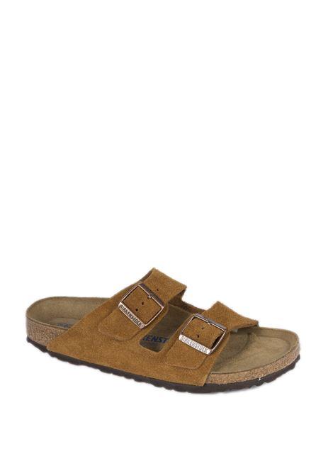 Sandalo arizona cuoio BIRKENSTOCK | Sandali flats | ARIZONA SFB U1009527-MINK