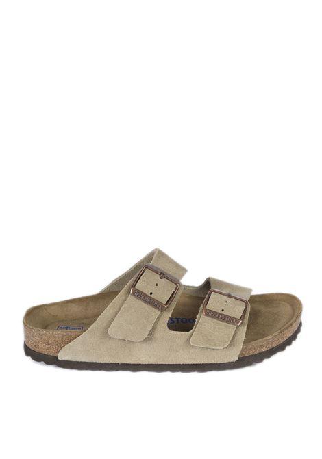 Sandalo arizona soft footbed taupe BIRKENSTOCK | Sandali flats | ARIZONA SFB951303-TAUPE