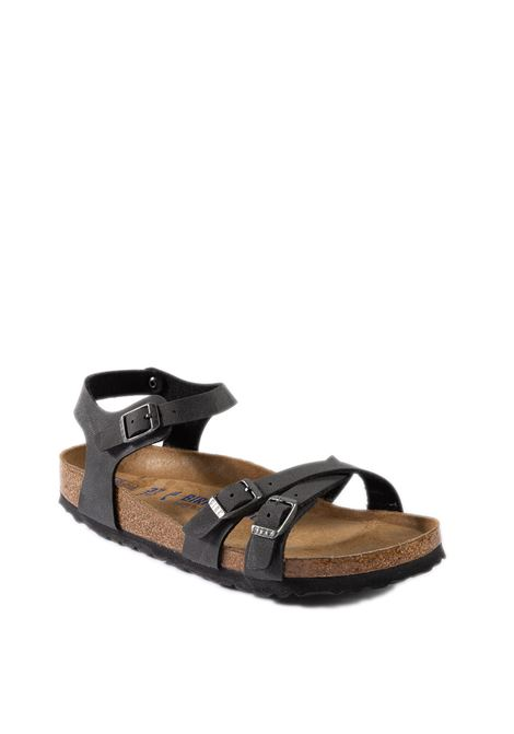 Birkenstock sandalo kumba nero BIRKENSTOCK | Sandali flats | KUMBA D026173-BLACK