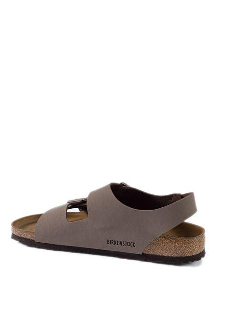 Birkenstock sandalo milano marrone BIRKENSTOCK | Sandali flats | MILANO U634503-MOCCA