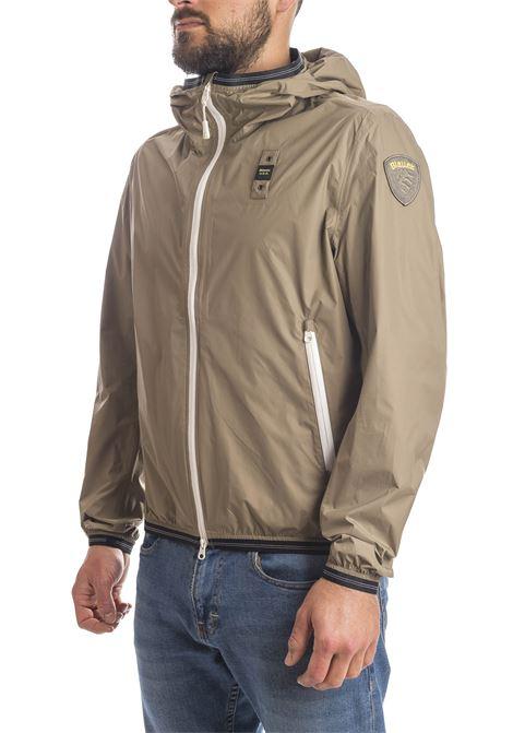 Giacca patch beige BLAUER | Giubbini | 4367NYL-655