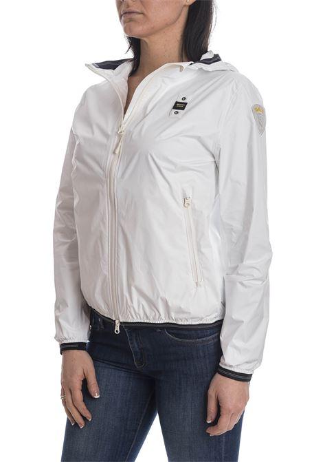 Giacca nylon bianco BLAUER | Giubbini | 4369NYL-100