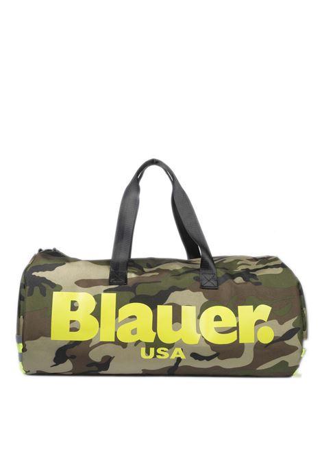 Borsone dakota camouflage BLAUER | Borsoni | DAKOTA05DUFFLE-CAMOUFLAGE/YELLOW