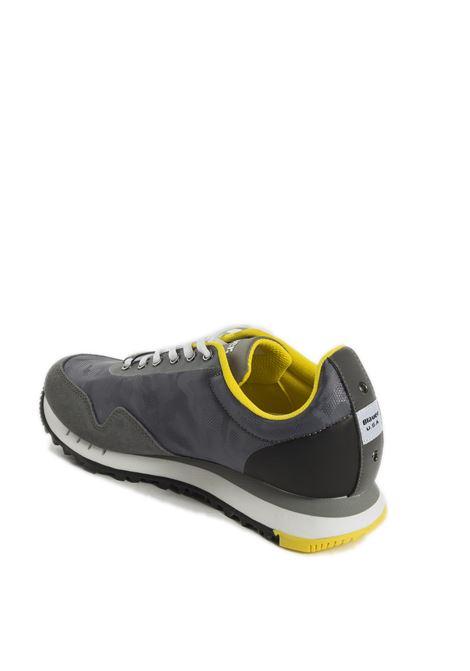 Sneaker denver grigio BLAUER | Sneakers | DENVER06SUEDE-GREY