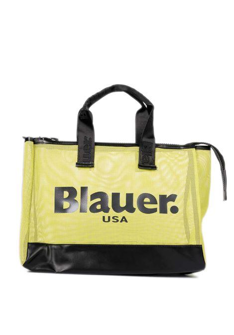 Shopping kara giallo BLAUER | Borse a mano | KARA05NET-YELLOW