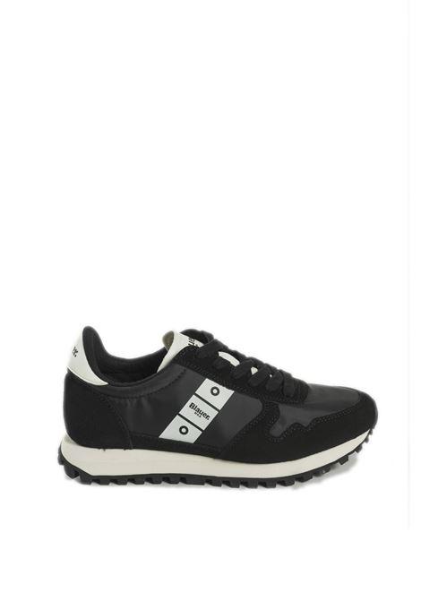 Sneaker merrill nero BLAUER | Sneakers | MERRILLSUEDE-BLACK