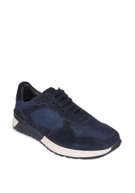 Brian Cress sneaker camoscio blu BRIAN CRESS | Sneakers | X222SOFTY-BLU