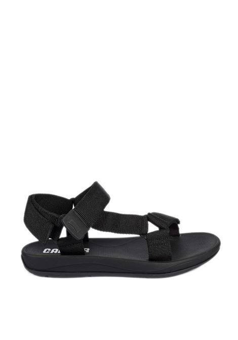 Sandalo webbing nero CAMPER | Sandali flats | 100539WEBBING-NEGRO