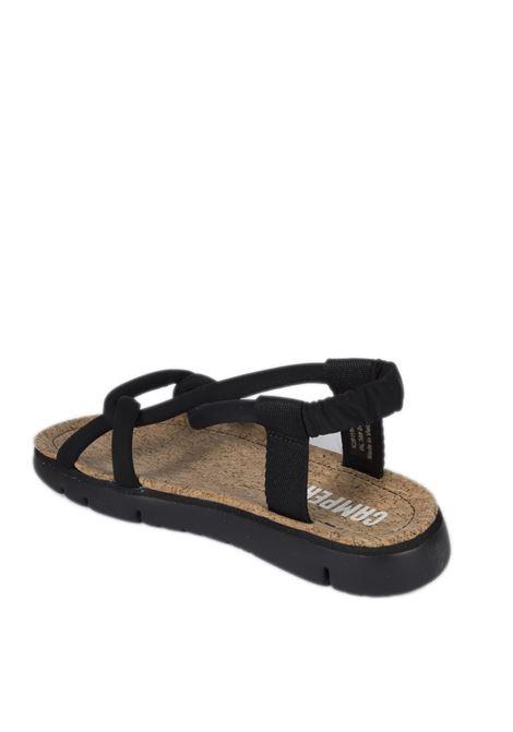 Sandalo squash nero CAMPER | Sandali flats | 201194SQUASH-002