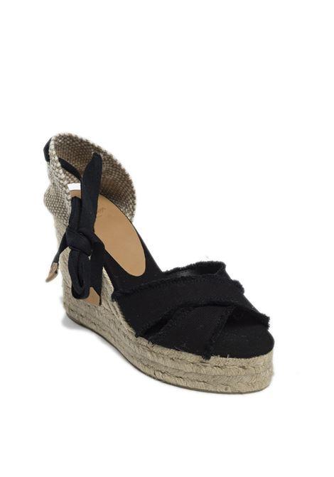 Sandalo espadrilles bluma nero CASTANER | Espadrilles | BLUMATESS-100