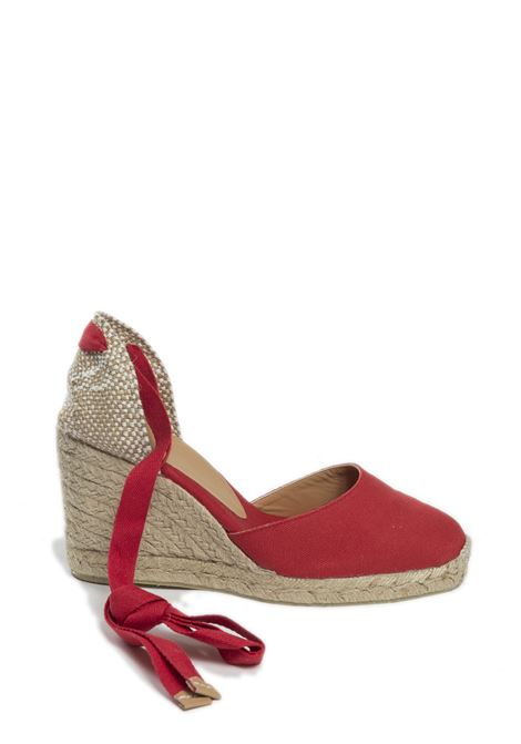 Esapdrilles carina rosso CASTANER | Espadrilles | CARINATESS-502