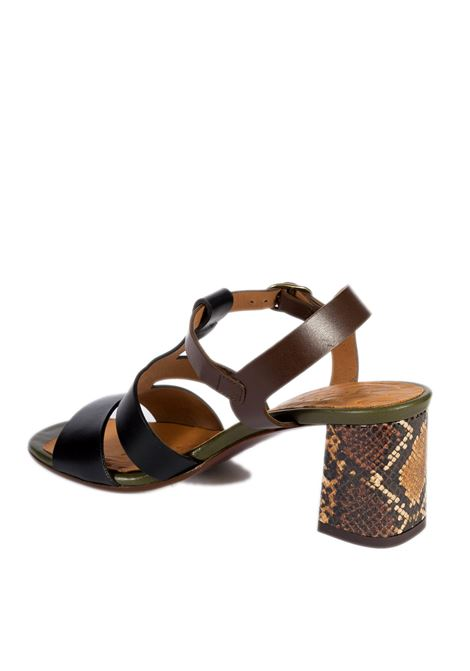 Sandalo lurata nero CHIE MIHARA | Sandali | LURATAPELLE-NERO