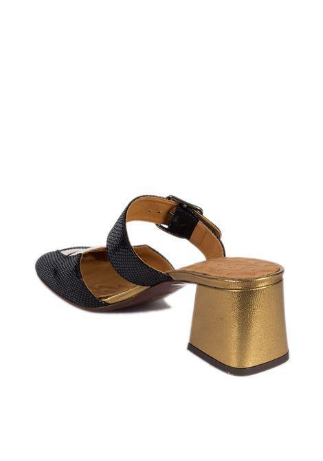 Sandalo voniro nero CHIE MIHARA | Sandali | VONIROPELLE-BRONZO/NERO