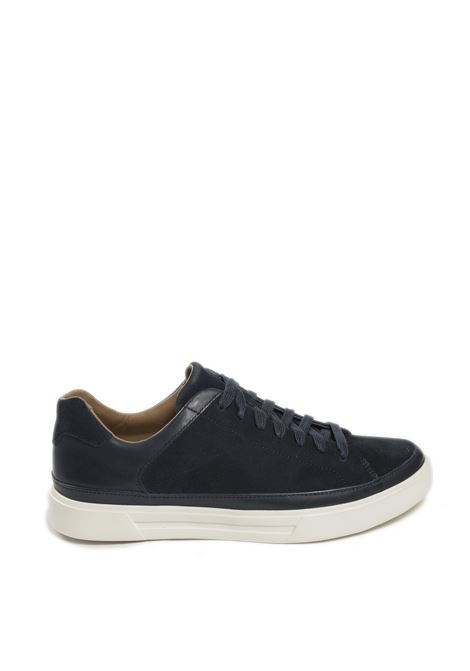 Sneaker un costa tie blu CLARKS ENGLAND | Sneakers | 156889UN COSTA TIE-NAVY