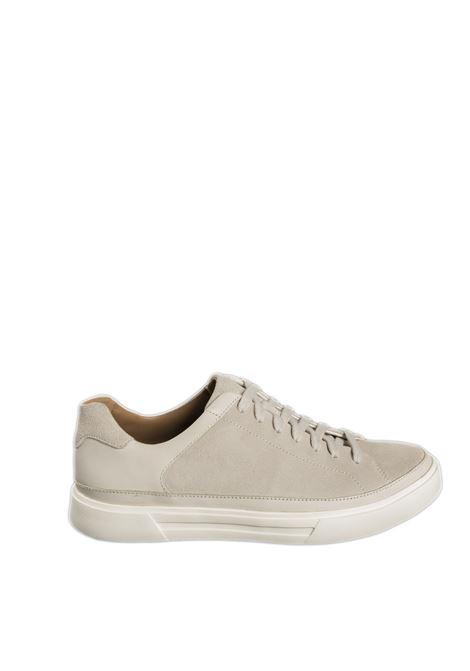 Sneaker un costa tie bianco CLARKS ENGLAND | Sneakers | 156891UN COSTA TIE-WHITE