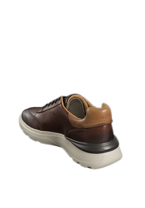 Sneaker sprint lite cuoio CLARKS ENGLAND | Sneakers | 158339SPRINT LITE-TAN